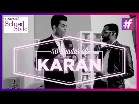 50 Shades Of Karan Johar | #LakméSchoolOfStyle