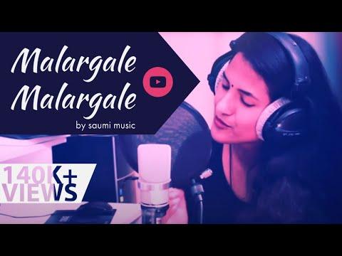 Malargale Malargale - Love Birds  A. R. Rahman Tamil Cover by Saumi 2017