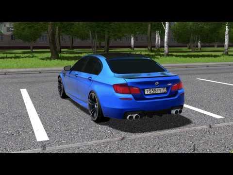 [City Car Driving 1.5.2] - Зверь на воле BMW M5 F10/Logitech G27