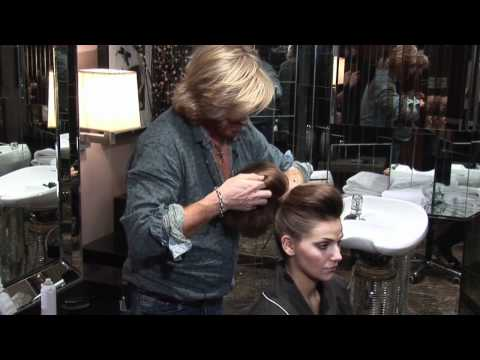Hair Tutorial - Nicky Clarke - Buffon Quiff Updo