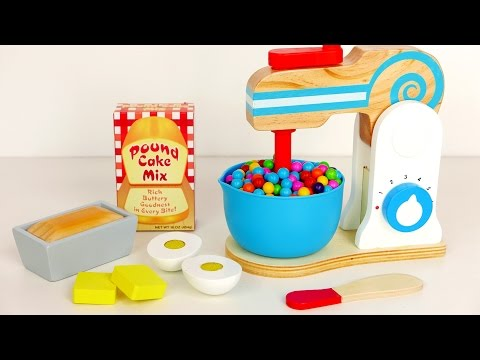 Kitchen Mixer Playset | Cooking Toys for Kids