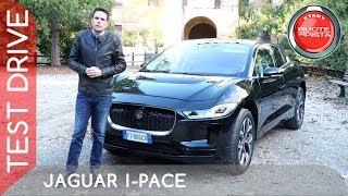 Jaguar I-Pace a Ruote in Pista