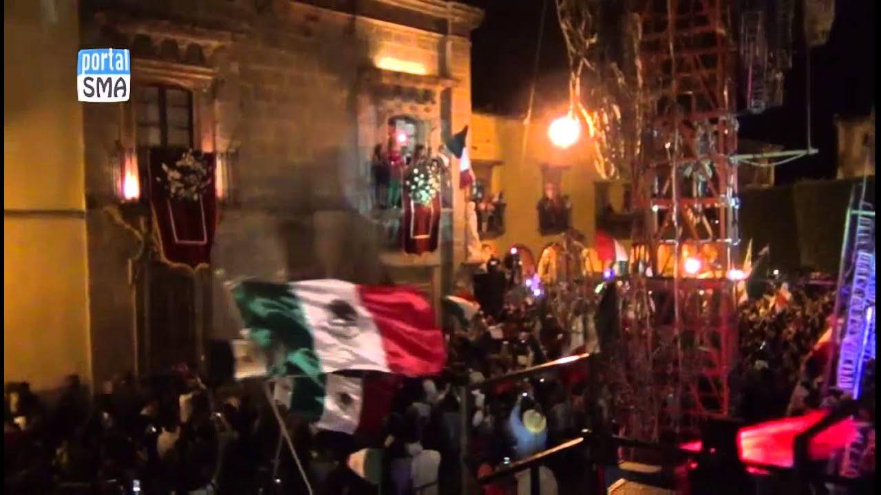 La Virgen De Guadalupe Y Juan Diego >> San Miguel de Allende, Gto Grito de Independencia Portalsma.mx - YouTube