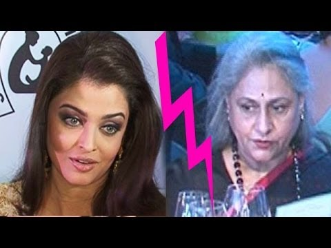 Is All Not Well Between Aishwarya Rai & Jaya Bachchan ? video