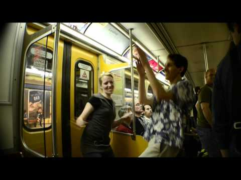 Subway Dance Party 2011 - Improv in Toronto