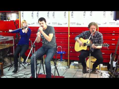 Reverie (ACOUSTIC) - The Domino State  //  [LIVE] City Music Store - Berlin-Germany - 18.12.2011