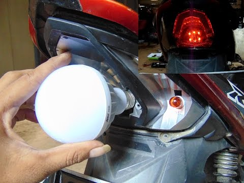 Cara Membuat Lampu Rem / Stoplamp dari Bohlam LED