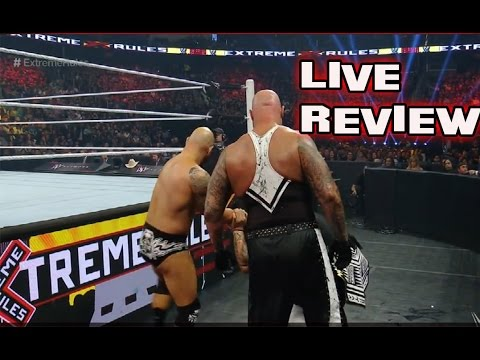 WWE EXTREME RULES 5/22/2016 Seth Rollins Returns Reaction & Review Live