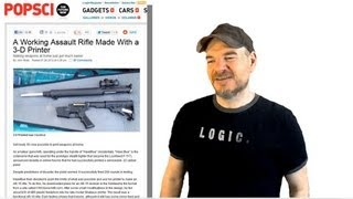 Print Your Own Gun - Why Gun Laws Will Never Work.