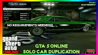 *EASY & SOLO* GTA 5 Online CAR DUPLICATION MONEY GLITCH 1.46 SOLO GTA 5 Money Glitch Car Dupe GTA V