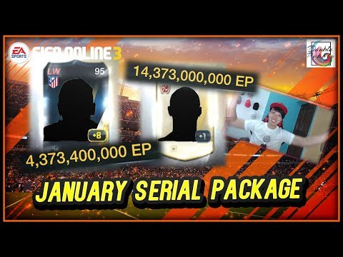 ~14 Billion?!?! +8?!?!~ January Serial Package Opening - FIFA ONLINE 3
