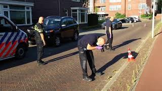 Woningen beschoten in Schiedam en Vlaardingen. Video Duivestein