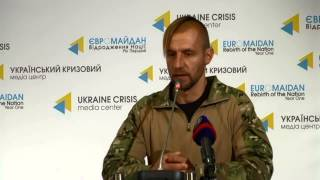 Mykhaylo Havrylyuk. Ukraine Crisis Media Center, 30th of October 2014