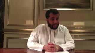 شاهد.. أول تعليق من تركي آل الشيخ بعد هزيمة المنتخب السعودي