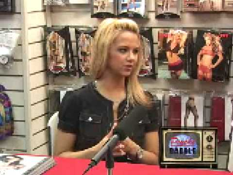 Ashlynn Brooke visits with PSYCHO BABBLE Video