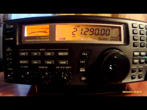 21290khz,Ham Radio,Z81X(Republic of South Sudan)