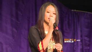 MICHELLE VANG Sings at Hmong MN New Year 2016, River Cente