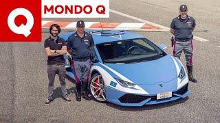 I segreti della Lamborghini Huracan della Polizia (+ Autovelox)