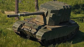 World of Tanks FV4005 Stage II - 10 Kills 10,2K Damage