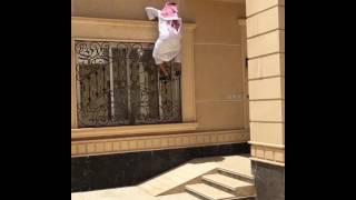فيديو: الرجل العنكبوت في الخليج
