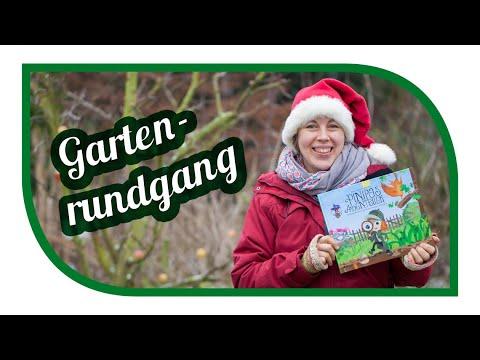Gartenrundgang Dezember vor Weihnachten