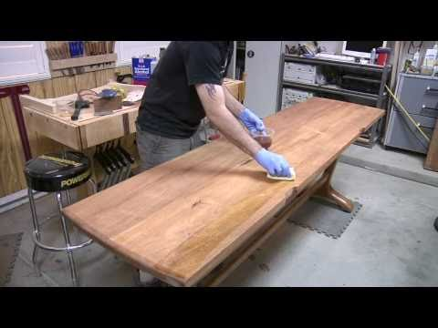 How to Make a Trestle Table Pt. 3