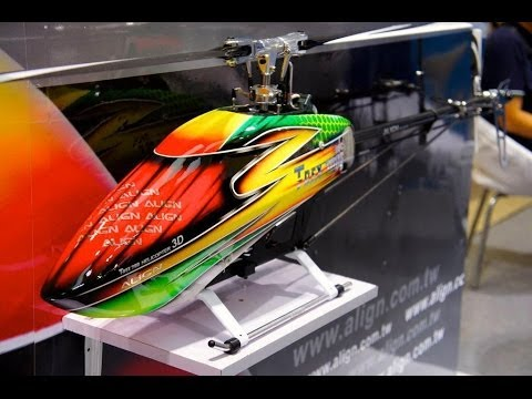 Alan Szabo Jr. ALIGN Trex 700E DFC Pro 850MX Dominator Motor Test Flight 5/7/2013