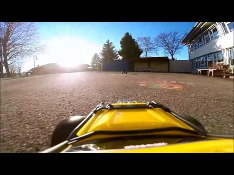 Real Rc Car V8 Engine Sound // Traxxas Summit Onboard Gopro 3 // ARRMA Adx-10 // With Crash //