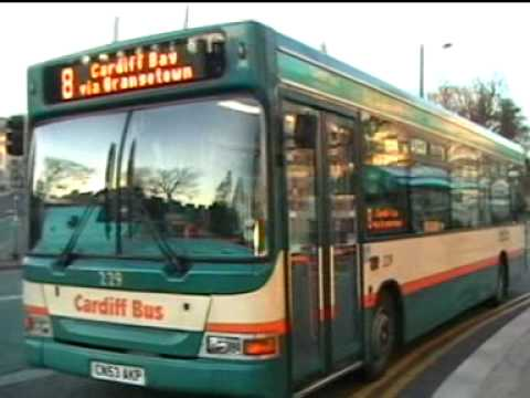 Cardiff Buses - The City Centre - March 2010.