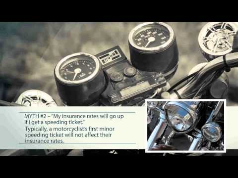 Motorcycle Insurance: Most Common Misconceptions