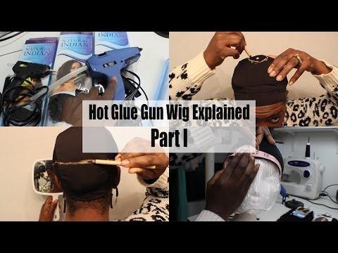 Hot Glue Gun Wig Series PART 1  Tools & Setting Yo