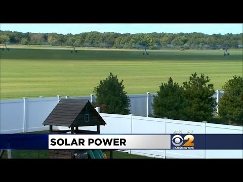 Battle Brews Over Solar Power Farms On Long Island