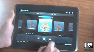 Test tablette tactile Android Samsung Galaxy Note 10.1 - multimédia