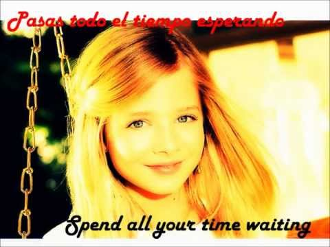 Jackie Evancho Angel Traducido Español video