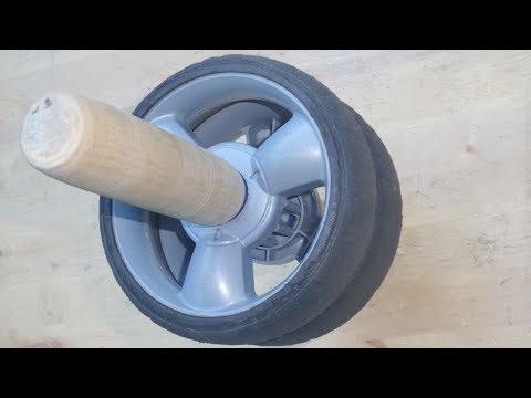 Как сделать колесо для пресса своими руками 4