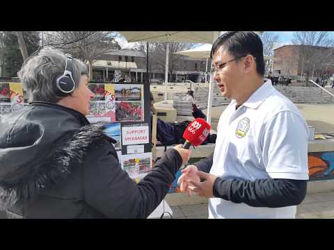 666 radio's interview with Ko Chit Win for flood victims in Myanmar in 2015