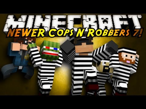 Minecraft Mini Game : COPS N ROBBERS 3.0 ROUND SEVEN