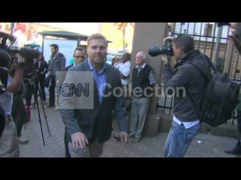 SOUTH AFRICA: OSCAR PISTORIUS ARRIVAL (TUESDAY)