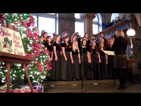 Shaler Area High School Choir - Children Go Where I Send Thee