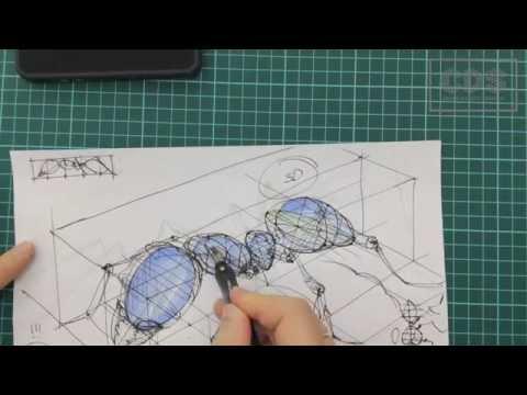 Видео как нарисовать проекцию