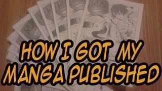 How I got my manga published