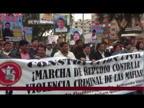 Peru economy expands with criminal gangs cashing in