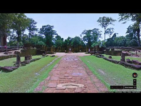Explore the temples of Angkor, Cambodia with Google Maps