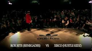 Roxrite vs. Xisco | Rock The Floor 2012 | Final Battle