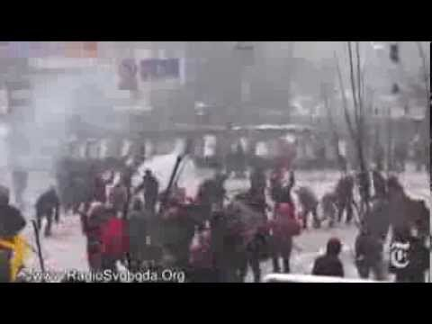 Kiev Ukraine Protest 2014 - PART 3  [HD]