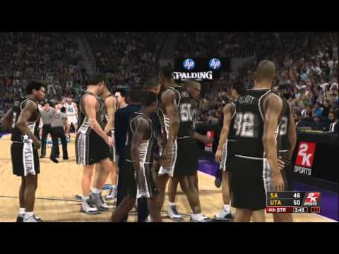 NBA 2K12 Legends Gameplay Episode 40 - Karl Malone (Utah Jazz)