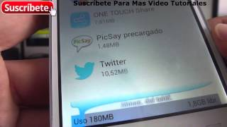 Alcatel Onetouch Pop C7 tamaño de la memoria interna y ram Español