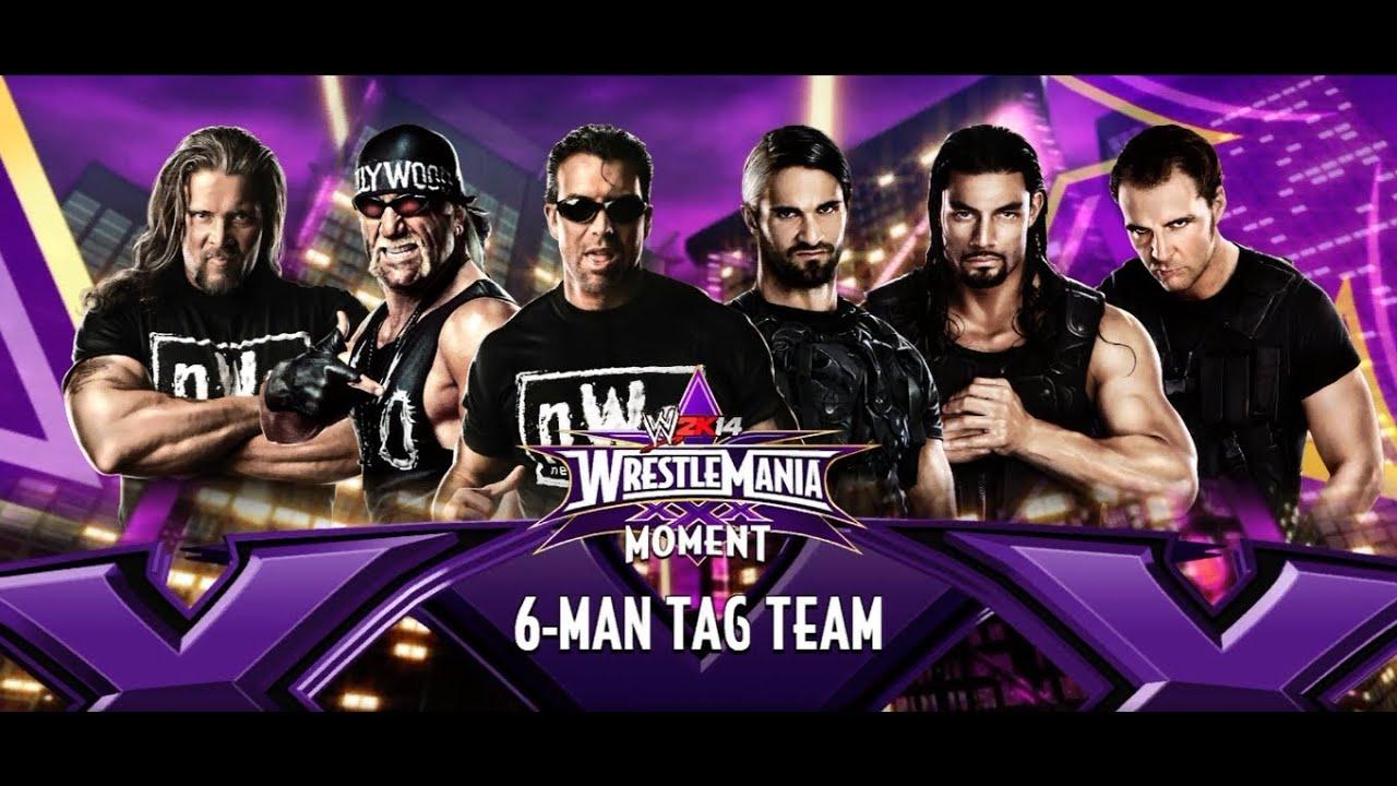 wwe 2k14 nwo vs the shield wrestlemania 30 no dq match