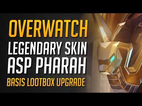 ASP PHARAO SKIN ENTHÜLLT!   Neuer Legendary Pharah Skin Trailer★ Overwatch Deutsch