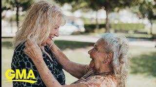 See the moment this 90-year old meets her 70-year-old daughter for the first time